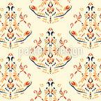 Lustres vibrantes Design de padrão vetorial sem costura