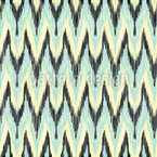 Zickzack Ikat Muster Design