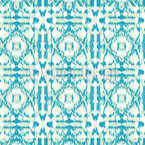 Sparkling Ikat Seamless Vector Pattern