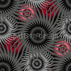 Abstrakter Blütenteppich Musterdesign