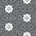 Shadow Sleeping Beauty Seamless Vector Pattern Design