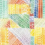 モザイク描画 シームレスなベクトルパターン設計