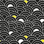 Schuppenmeer Nahtloses Muster