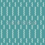 ジグザグと紙吹雪 シームレスなベクトルパターン設計