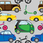 Cars Bicycles And Scooters Design Pattern