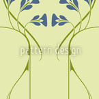 Pelleas Et Melisande Green Seamless Vector Pattern Design