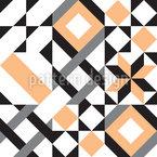 Zusammenfassung Von Geometrie Rapportiertes Design