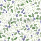 Kleine Blaue Blümchen Vektor Muster
