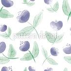 Simple Flowers Seamless Vector Pattern Design