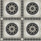 Nobel Azulejos Árabes Design de padrão vetorial sem costura