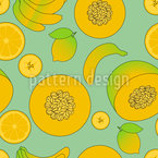 Multi Vitamin Seamless Pattern