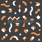 Abstract Geometry Seamless Vector Pattern Design