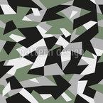 Geometrische Camouflage Vektor Ornament