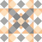 Angled Patchwork Seamless Vector Pattern Design