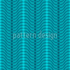 Hill And Valley Seamless Vector Pattern Design