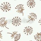 Löwenzahn Nahtloses Vektor Muster