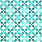 Grelha com bordas Design de padrão vetorial sem costura