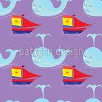 Segel Und Wal Muster Design