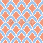 Ornamental Scales Vector Ornament