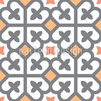 Cross Square Seamless Vector Pattern Design