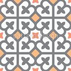 Kreuzquadrate Vektor Muster