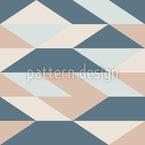 Winkelförmige Linien Vektor Ornament