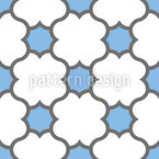 Colliding Shapes Seamless Vector Pattern