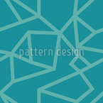 Broken Line Geometry Repeat Pattern