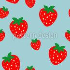 Erdbeeren in Hülle und Fülle Vektor Design