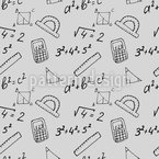 Schoolbook Drawings Repeat Pattern