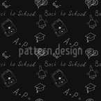 Back To School Doodles Pattern Design