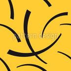 Dunkle Sicheln Rapportiertes Design
