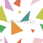 Triangles de hanche Motif Vectoriel Sans Couture