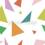Tolle Dreiecke Nahtloses Vektormuster