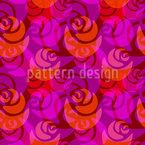 Licht Rosen Musterdesign