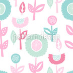 Baby Floral Seamless Vector Pattern Design