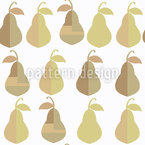 Pears Seamless Vector Pattern