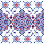 Mandala Mit Paisley Nahtloses Vektormuster