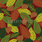 Autumn Composition Seamless Vector Pattern Design
