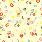 Diffuse Flowers Vector Design