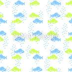 Fish Couple Repeat Pattern