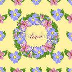 Floral Wreath Pattern Design