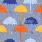 ウムレラスと雨 シームレスなベクトルパターン設計