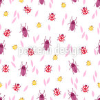 Colorful Beetles Repeat