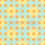 Grunge Polka Dots Seamless Vector Pattern Design