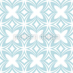 Kaleidoscopic Flower Seamless Vector Pattern Design