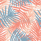 Palm Leaf Blanket Vector Pattern