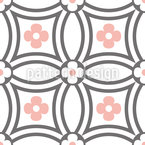 Circle Flower Repeat Pattern