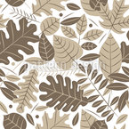 Leaves Of Autumn  Seamless Vector Pattern Design