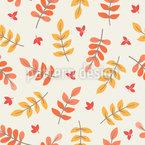 Herbstliche Vogelbeerblätter Rapport